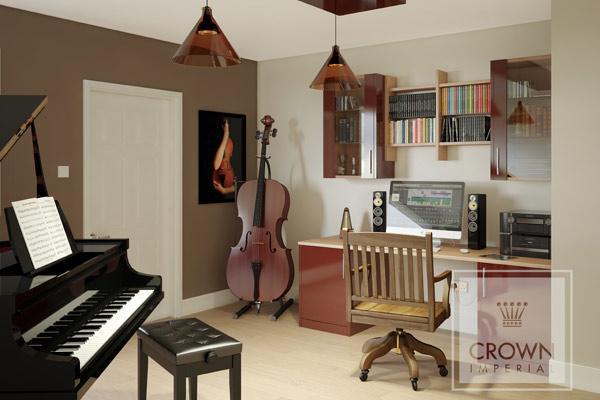 Musicians Bedroom Modern Stylish Bedrooms at Tytherleigh Bedrooms Devon and Dorset