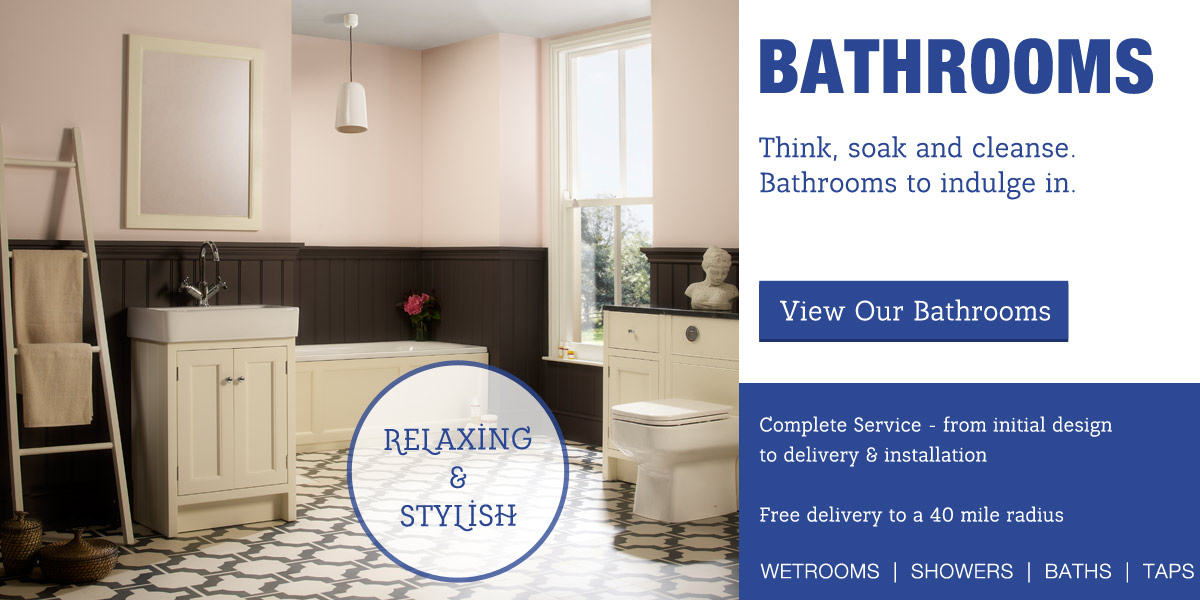 Bathrooms by Tytherleigh Kitchens and Bathrooms