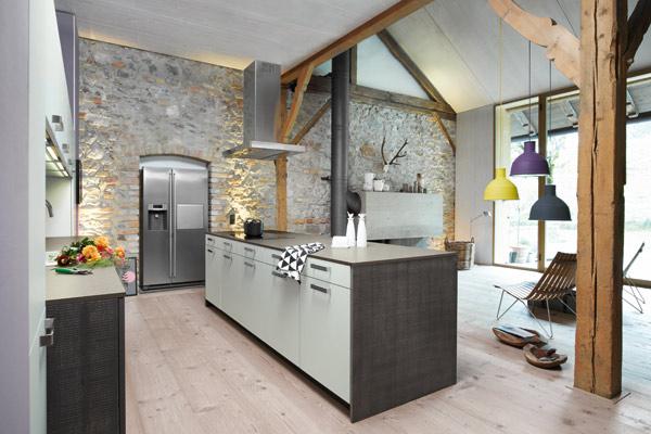 Barn Conversion Style Kitchens Tytherleigh Kitchens Devon