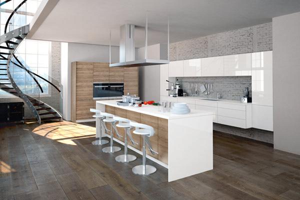 Flat / Apartment Living Kitchens Tytherleigh Kitchens Devon