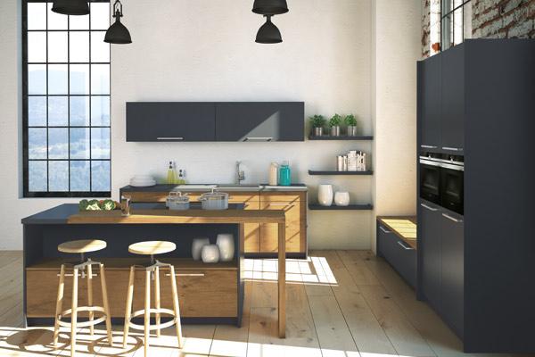 Loft or Barn Conversion Kitchens Tytherleigh Kitchens Devon