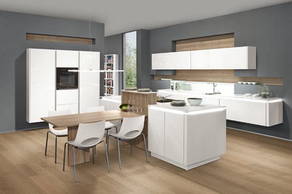 Modern Chic Contemporary Kitchens Tytherleigh Kitchens Devon