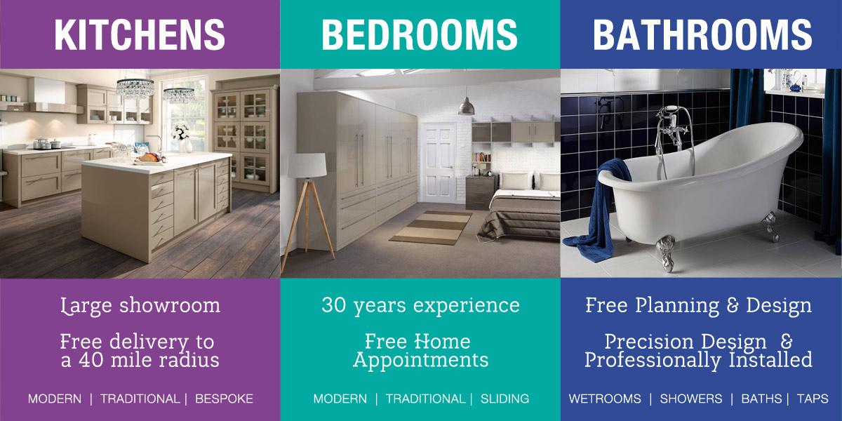 Bathrooms Bedrooms Kitchens Tytherleigh