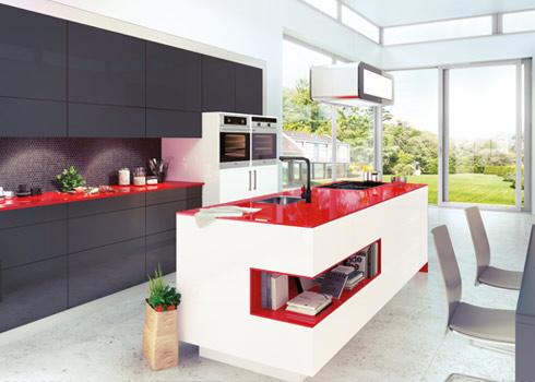 Kitchen Range at Tytherleigh, Devon