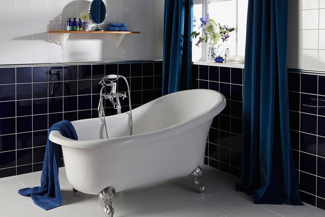Rolltop Claw Foot Bath Bathroom Tytherleigh Devon